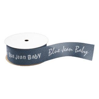Blue Jean Personalized Grosgrain Ribbon