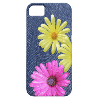 Blue Jeans and Flowers iPhone Case iPhone 5 Cases