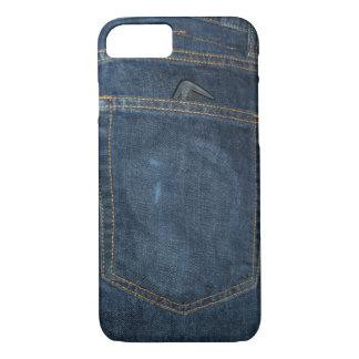 Blue Jeans Denim Pocket iPhone 7 Case
