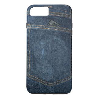 Blue Jeans Denim Pocket iPhone 7 Plus Case