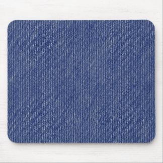 Blue Jeans Denim Texture Mouse Pad