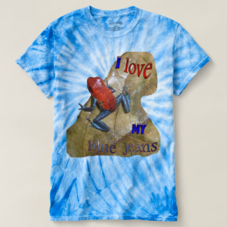 Blue Jeans Frog Cyclone T-shirt