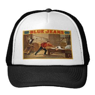 Blue Jeans Mesh Hat