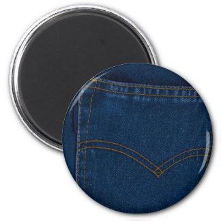 blue jeans magnet