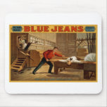 Blue Jeans Mouse Pad