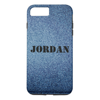 Blue Jeans Personalized iPhone 7 Case