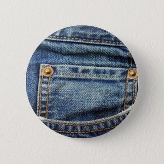 Blue Jeans Pocket Button