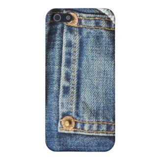 Blue Jeans Pocket Case For iPhone SE/5/5s