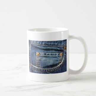 Blue Jeans Pocket Coffee Mug