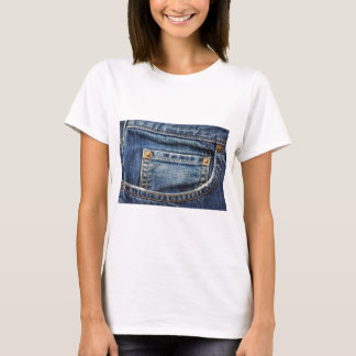 Blue Jeans Pocket T-Shirt