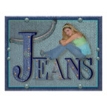Blue Jeans - Poster