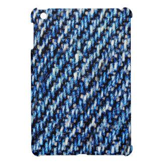 Blue jeans texture iPad mini case