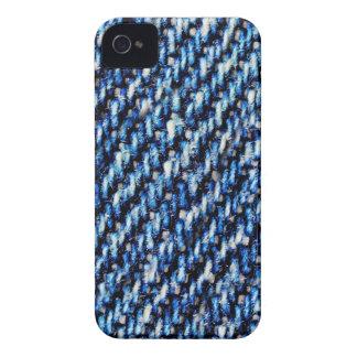 Blue jeans texture iPhone 4 Case-Mate case