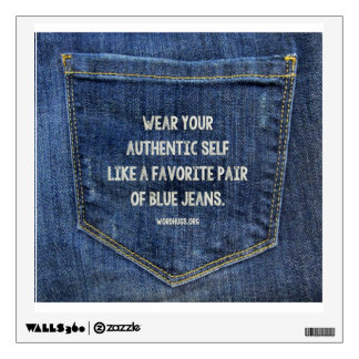 Blue Jeans Wall Decal