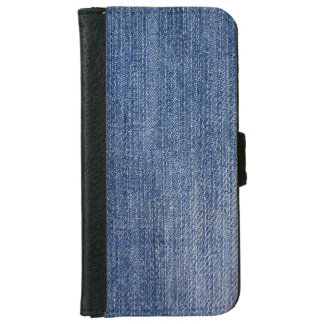 Blue Jeans Wallet Phone Case For iPhone 6/6s