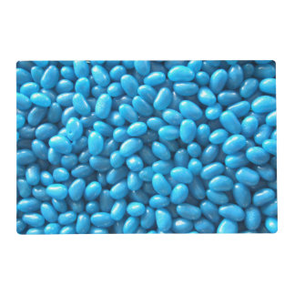 Blue Jelly Bean Placemat Laminated Placemat