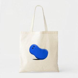 Blue Jellybean Tote Bag