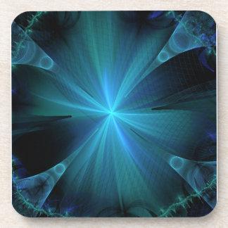 Blue Jellyfish Beverage Coaster