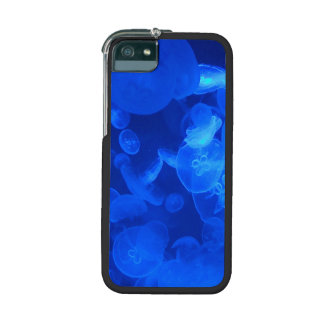 Blue Jellyfish Case For iPhone 5