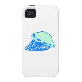 Blue Jellyfish iPhone 4/4S Case