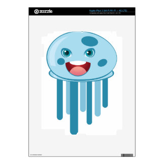 Blue Jellyfish iPad 3 Skin