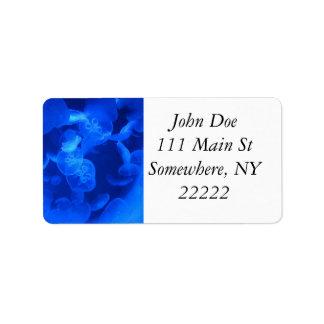 Blue Jellyfish Label