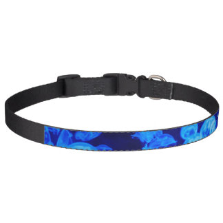 Blue Jellyfish Pet Collar