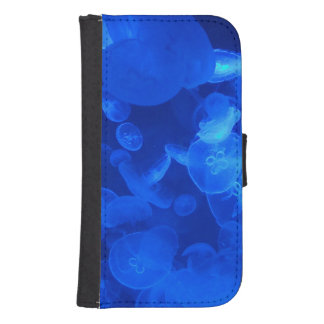 Blue Jellyfish Phone Wallet