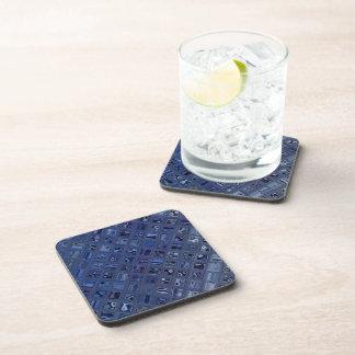 Blue Jewel Beverage Coasters
