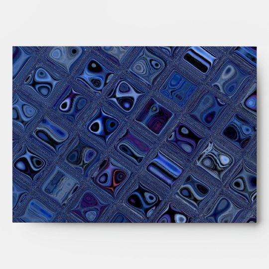 Blue Jewel Envelope
