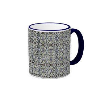Blue jewel pattern -  mug