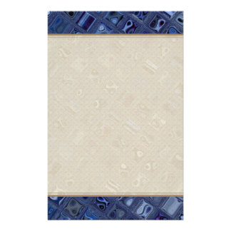Blue Jewel Stationery