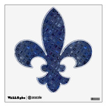 Blue Jewel Wall Decal