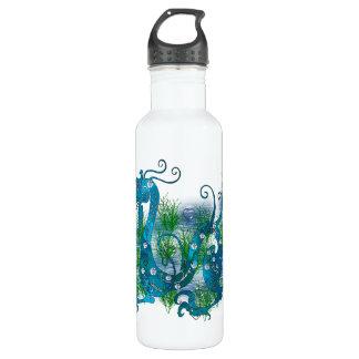 Blue Jeweled Dragon Water Bottle