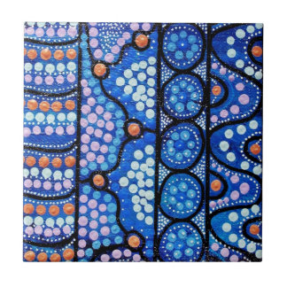 Blue Journey Dreaming Tile