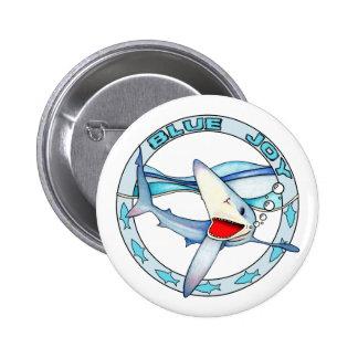 Blue Joy Button