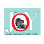 Blue Joy Postcard