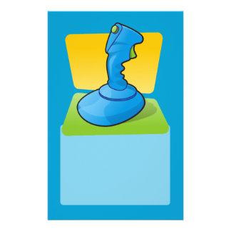 Blue Joystick Flyer