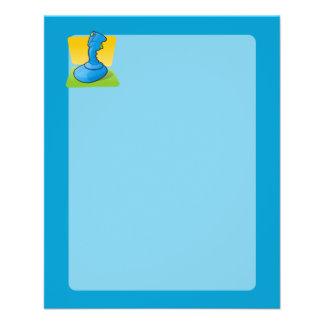 Blue Joystick Full Color Flyer