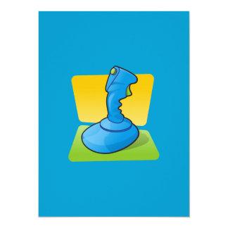 Blue Joystick Custom Announcements