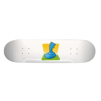 Blue Joystick Skateboard