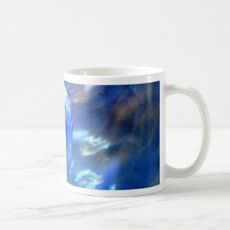 Blue.JPG abstracto Taza Básica Blanca