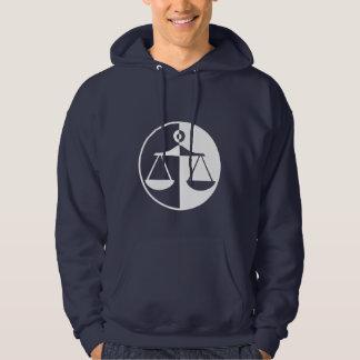 Blue Justice Scales Hoodie