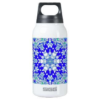 Blue Kaleidoscope Thermos Bottle