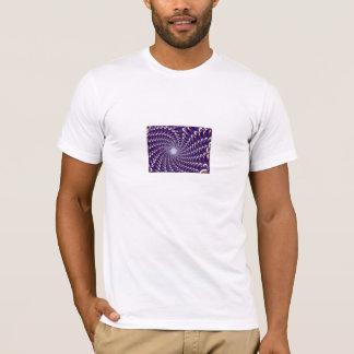 Blue Kaleidoscopic Swirl T-Shirt