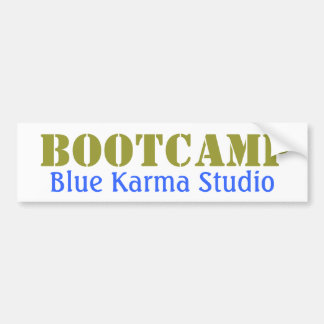 Blue Karma Bootcamp Bumper Sticker