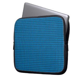 Blue Karos Laptop Sleeve