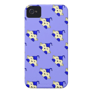 Blue Kawaii Tickle Monster Case-Mate iPhone 4 Cases