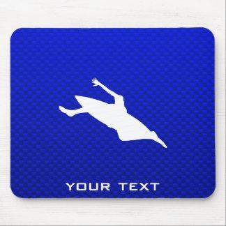 Blue Kayaking Mousepad