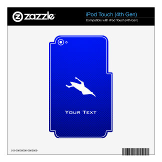 Blue Kayaking Decal For iPod Touch 4G